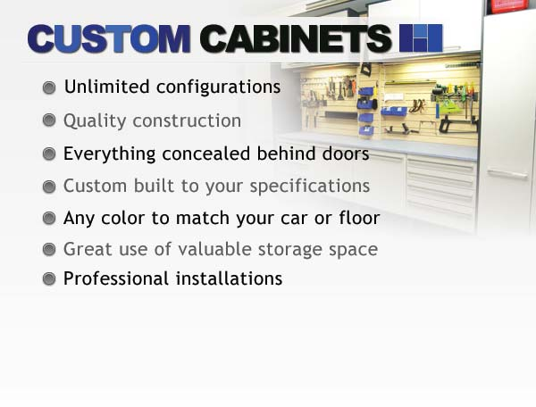 Custom Garage Cabinets Brisbane